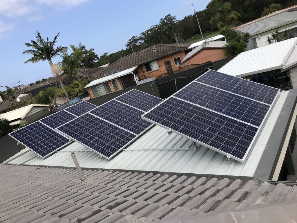 caves beach Solar installation projects, Solar products, Solar panels, Solar battery storage, Solar power inverter
