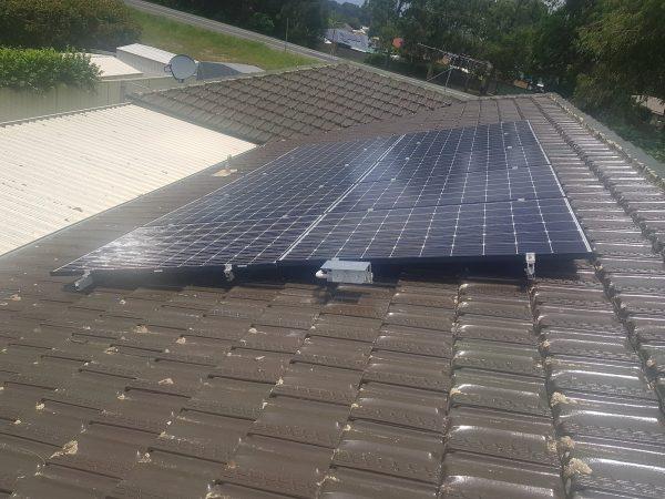 raymond terrace solar installation projects