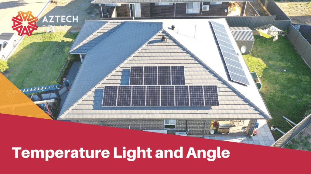 Temperature Light and Angle