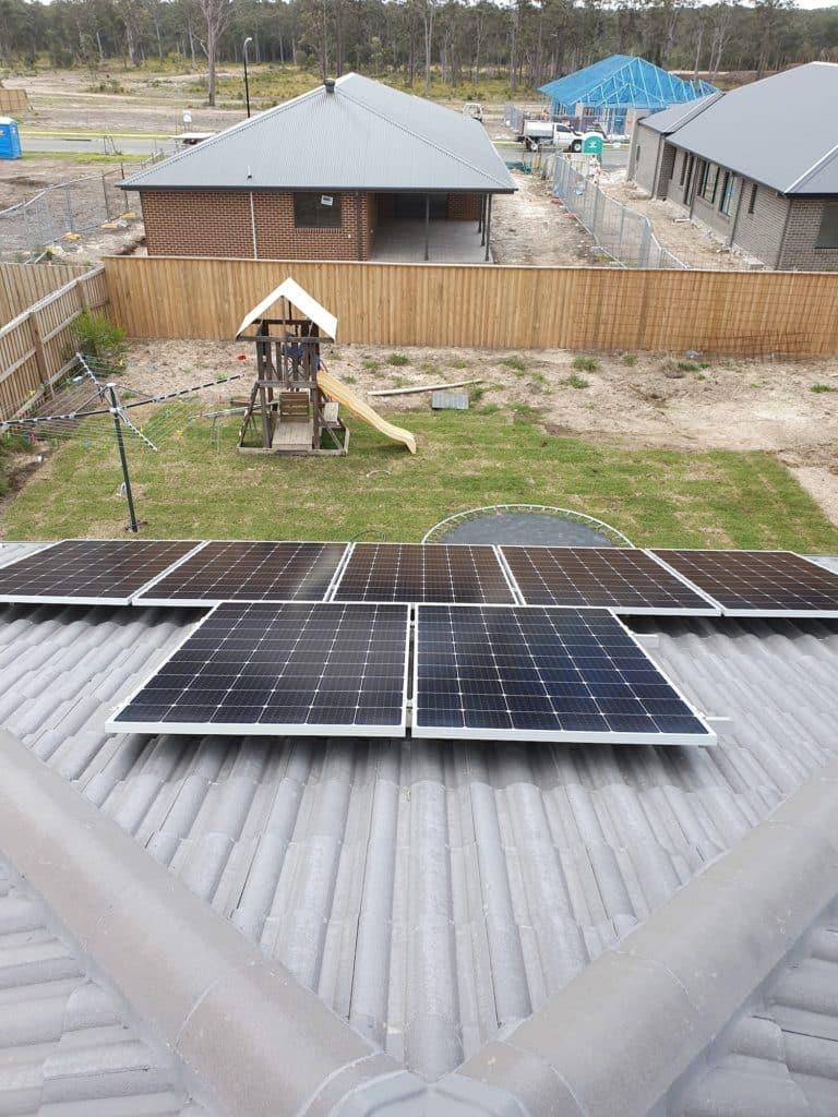 medowie solar panel installation