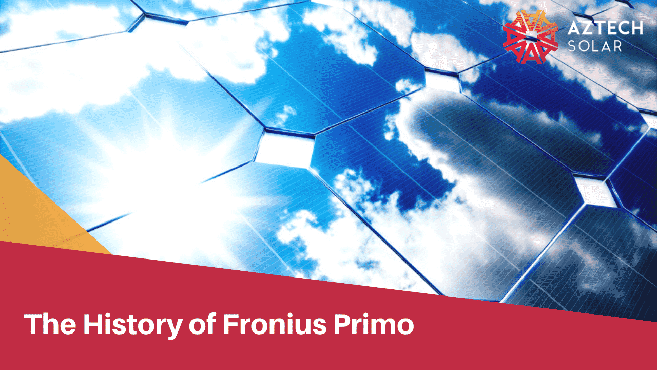 Benefits of a Fronius Primo Solar Inverter - Fronius Primo Solar Inverter
