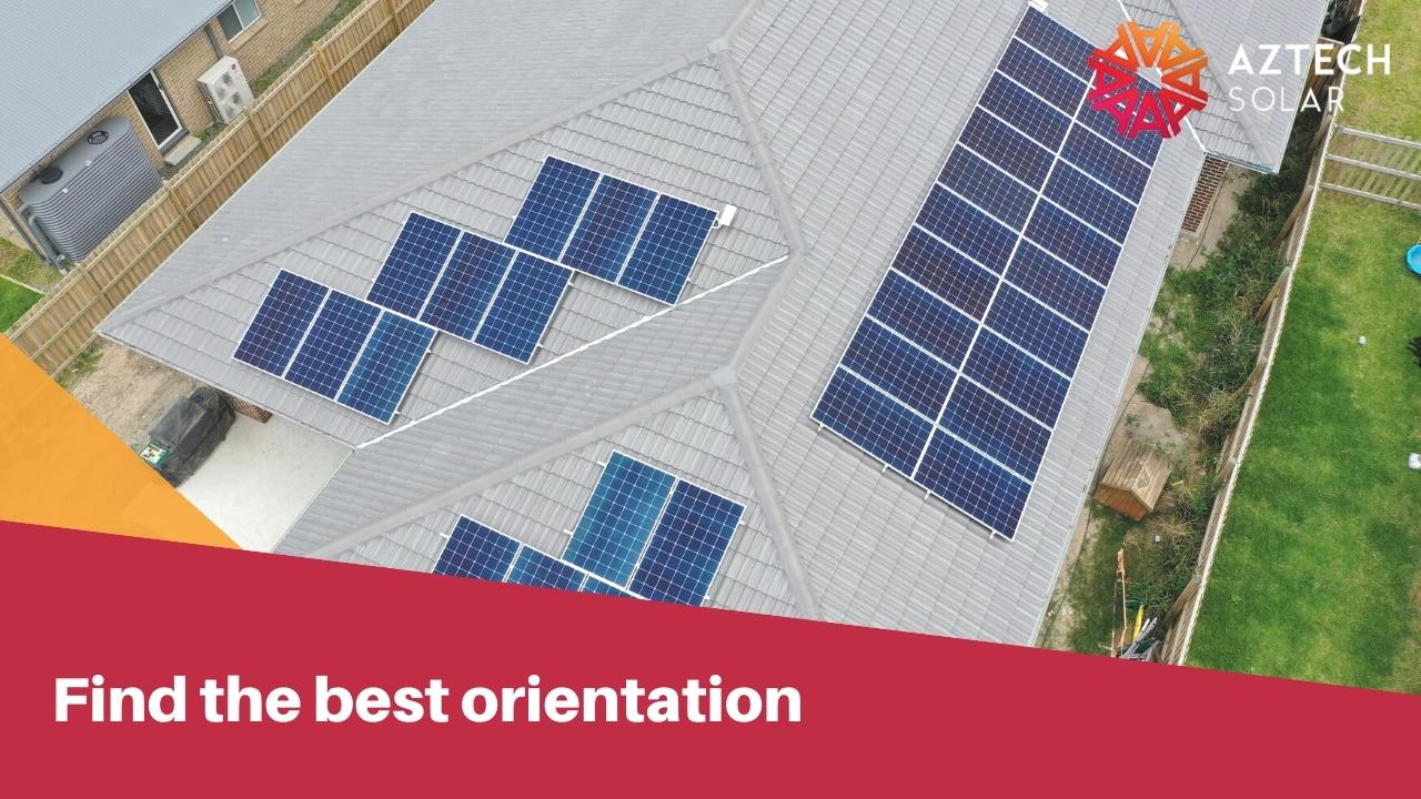 find the best orientation
