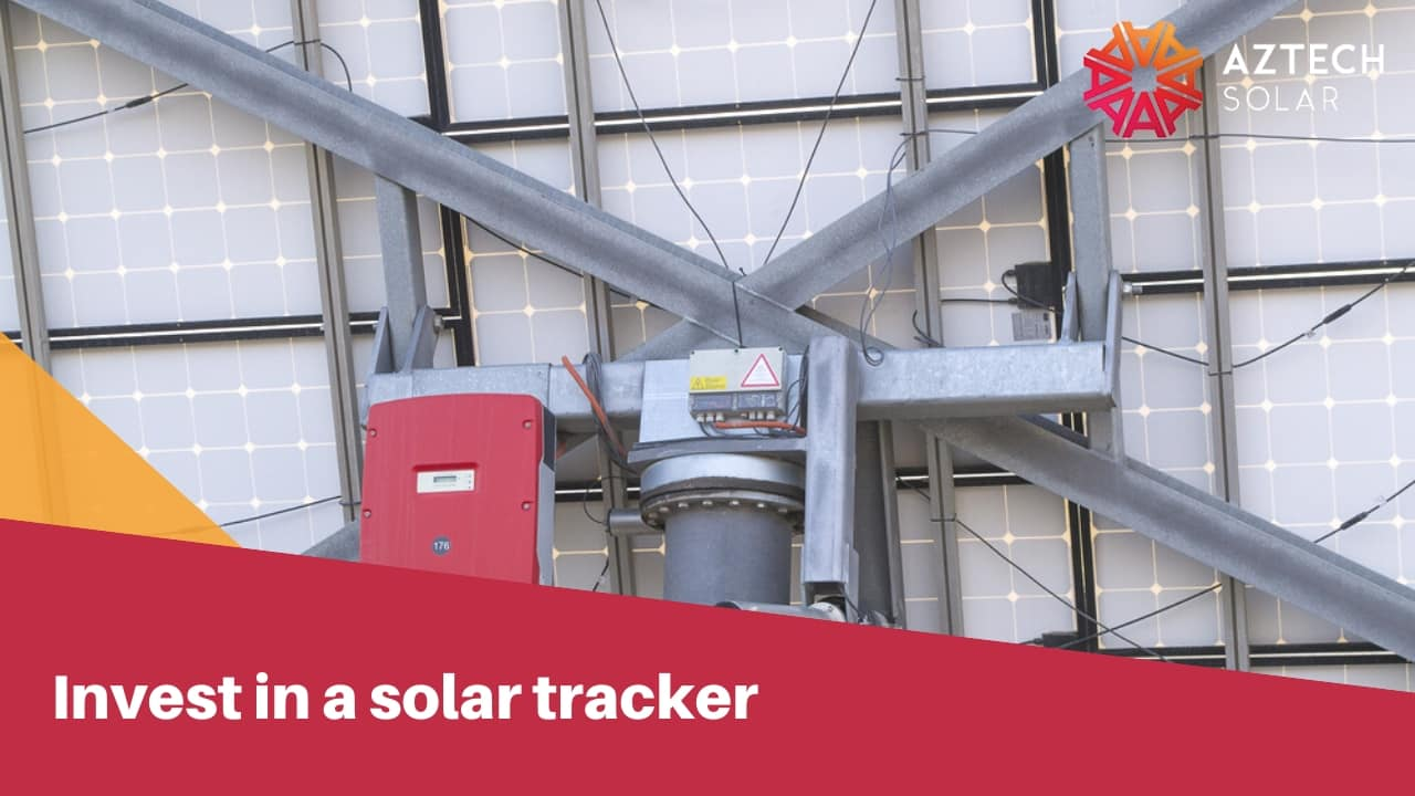invest in a solar tracker