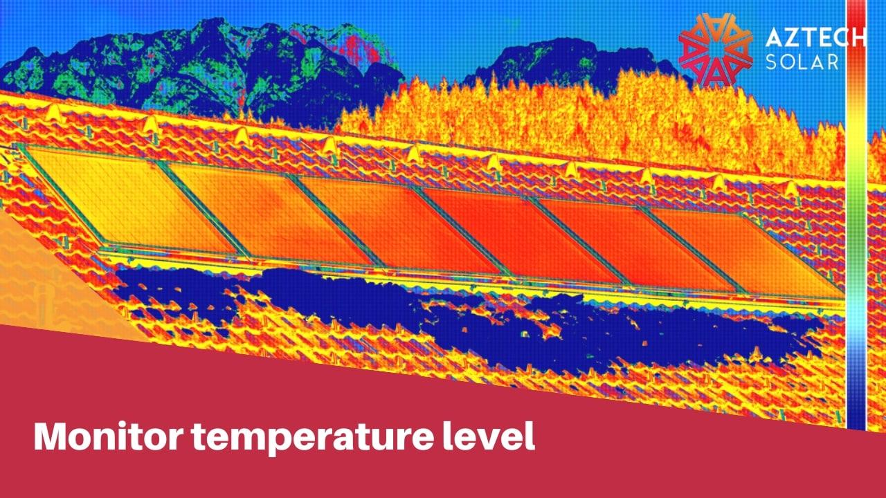 monitor temperature level