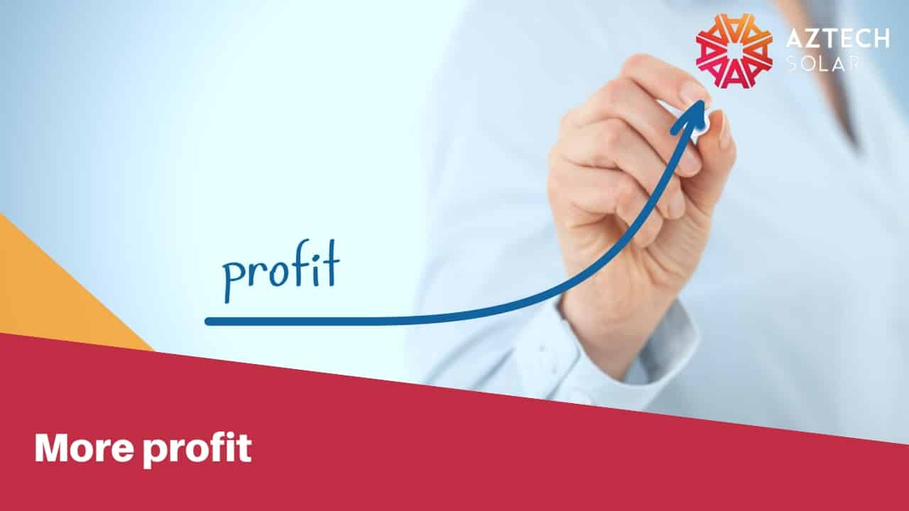 More profit