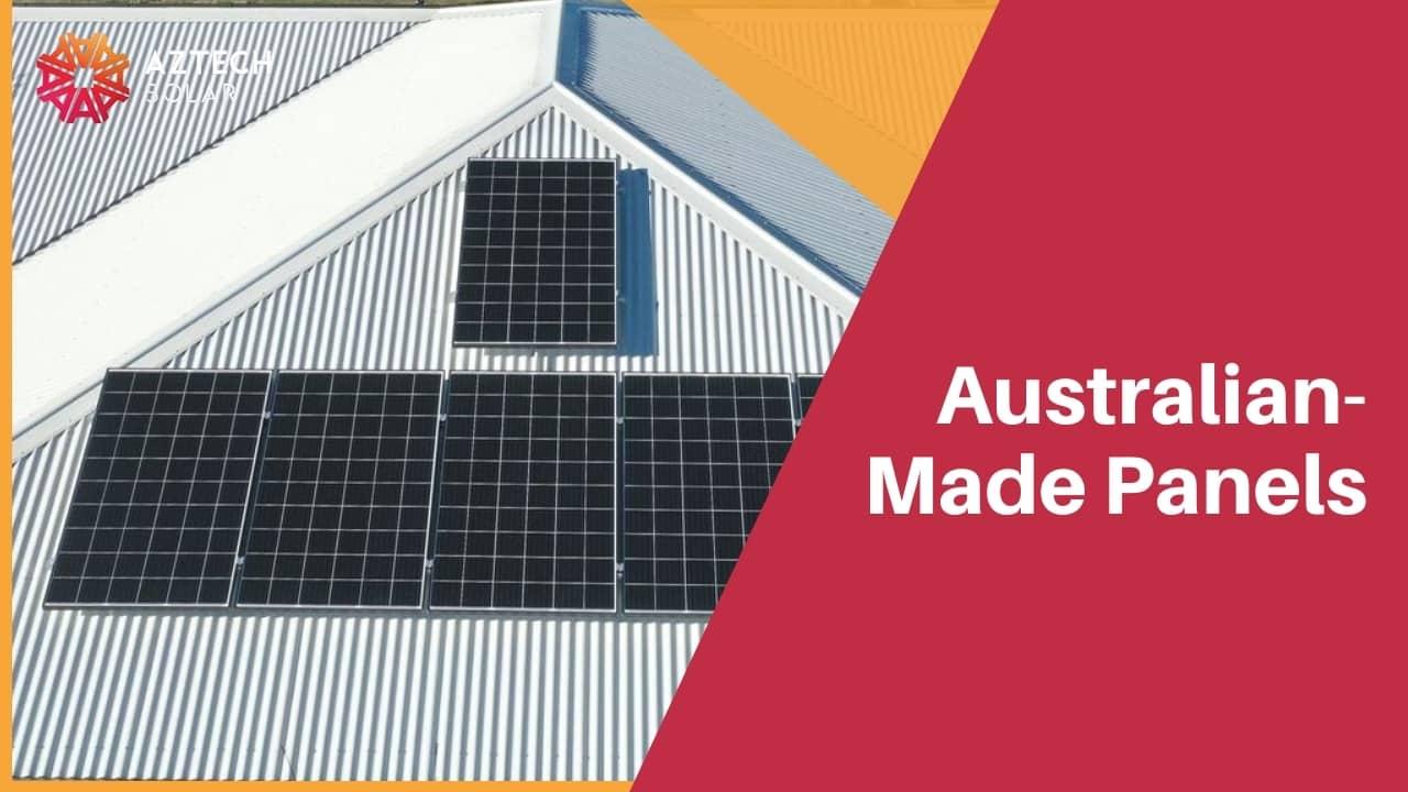 Australian-Made Panels