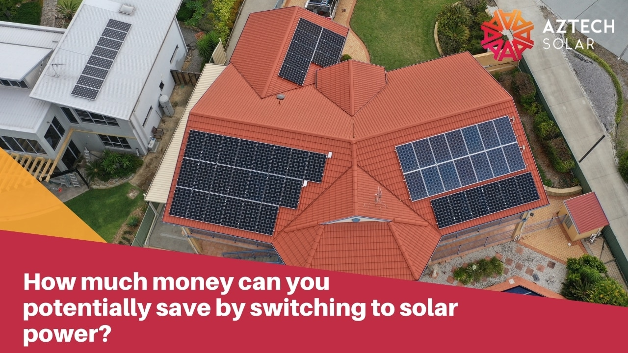 How much money can you potentially save by switching to solar power?