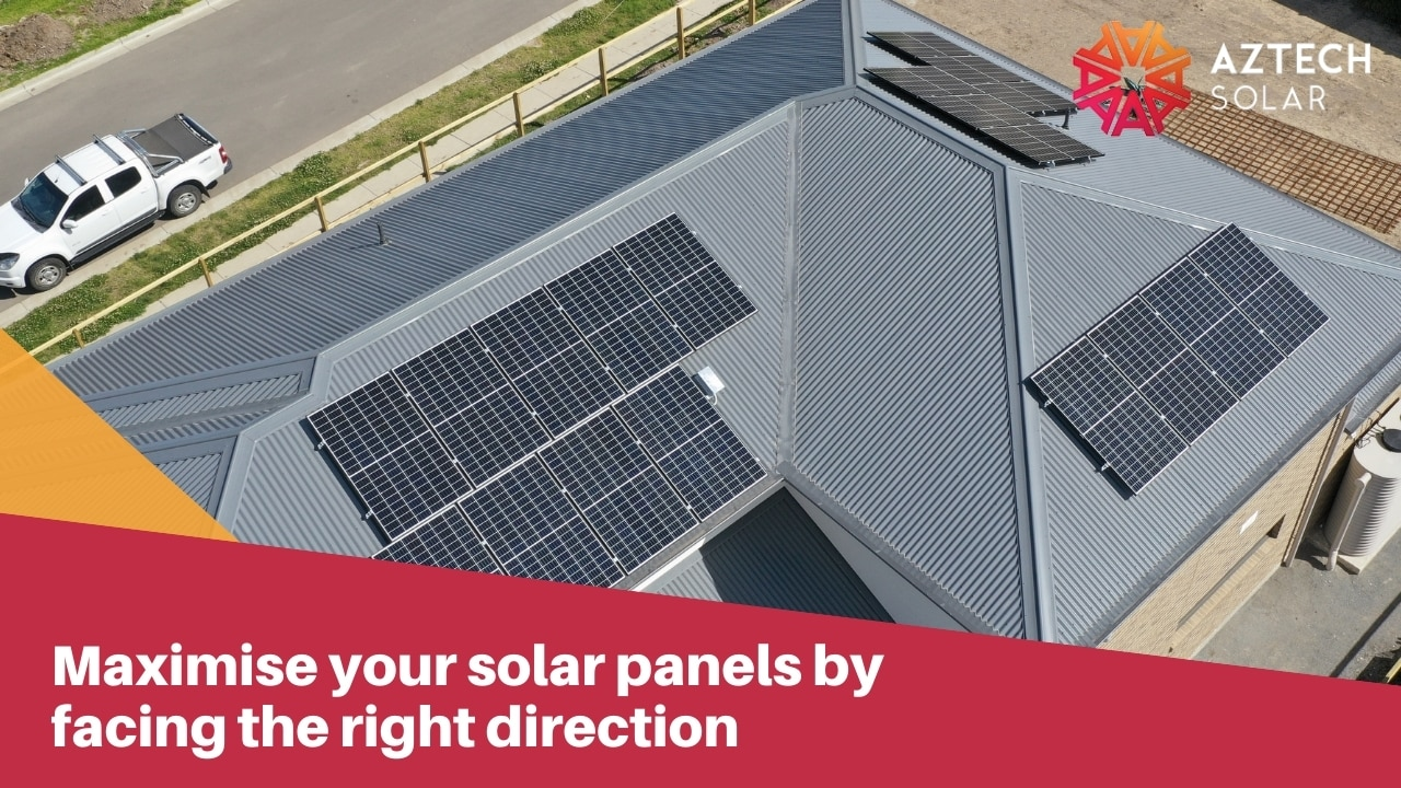 Maximise your solar panels by facing the right direction