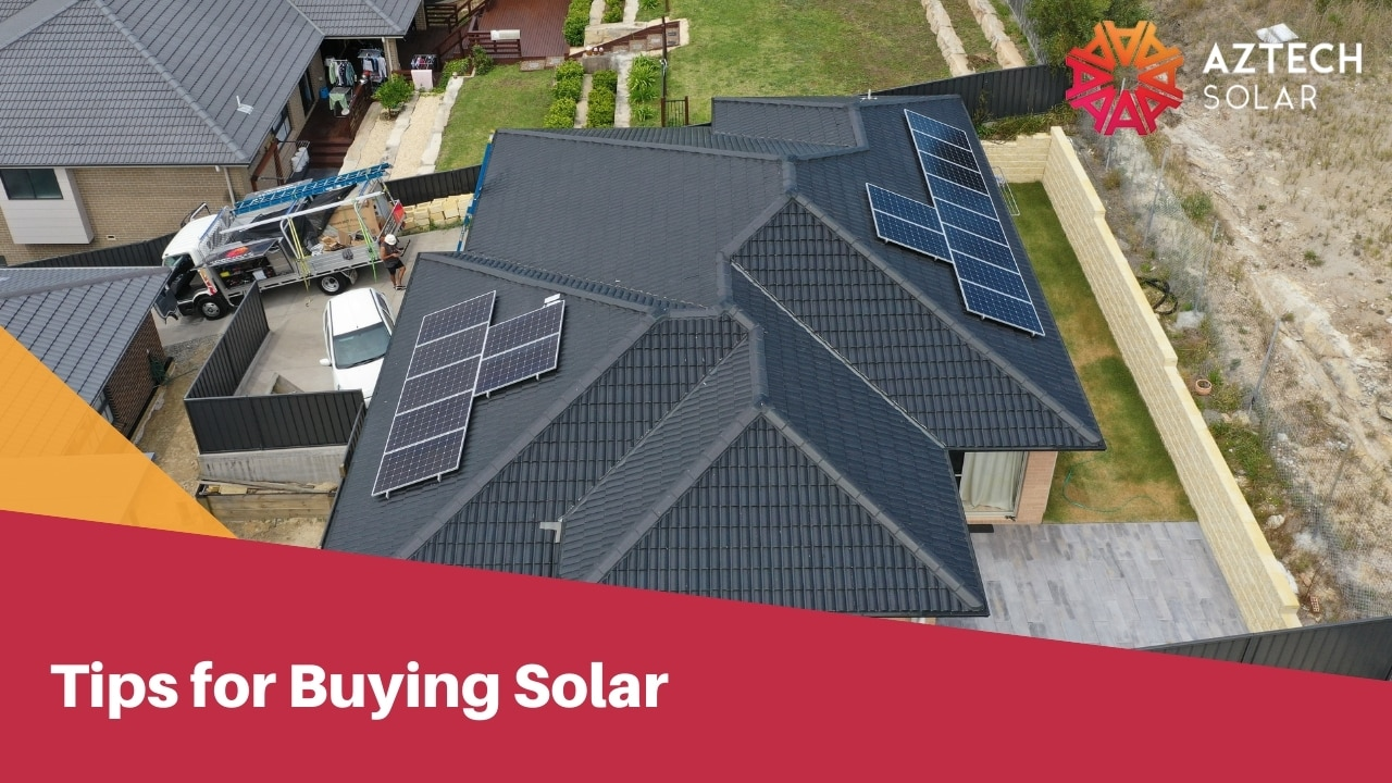 Tips for Buying Solar