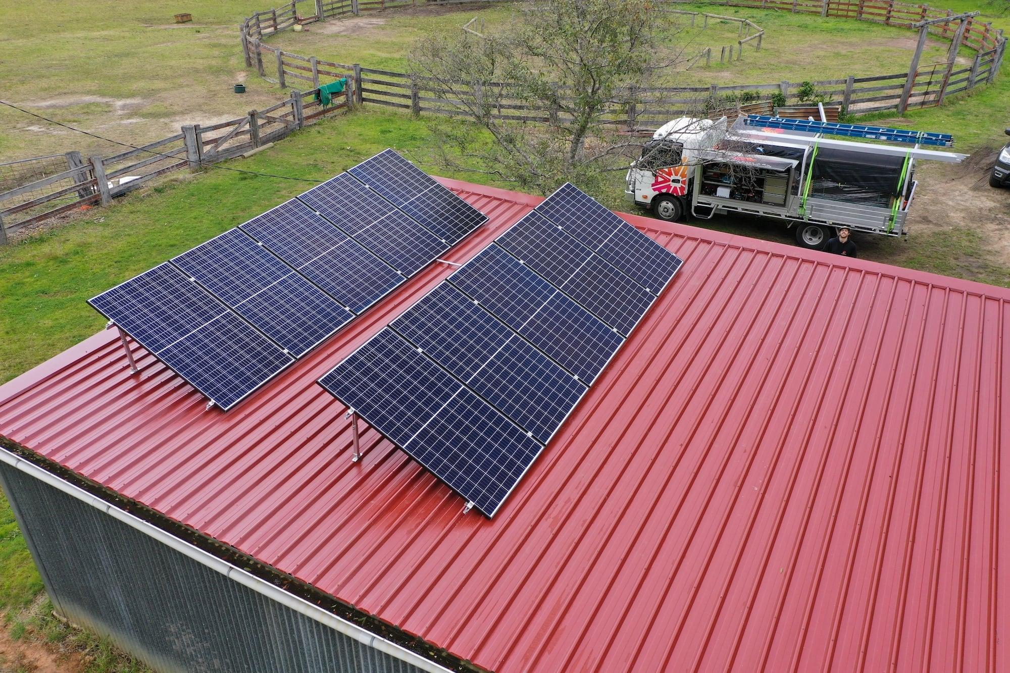 aztech solar panel installation_august 13