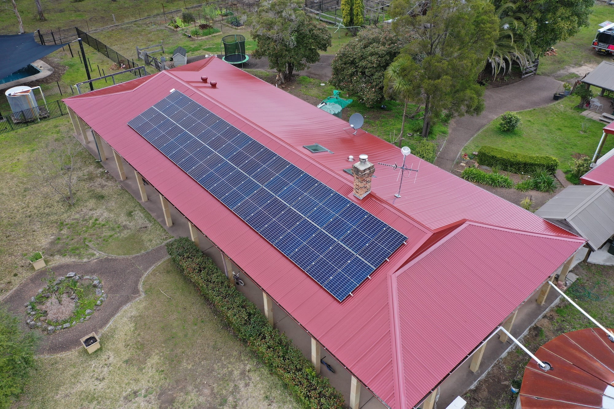 aztech solar panel installation_august 14