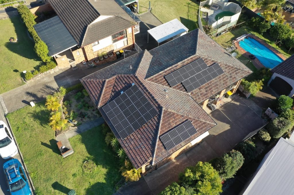 aztech solar panel installation_august 7