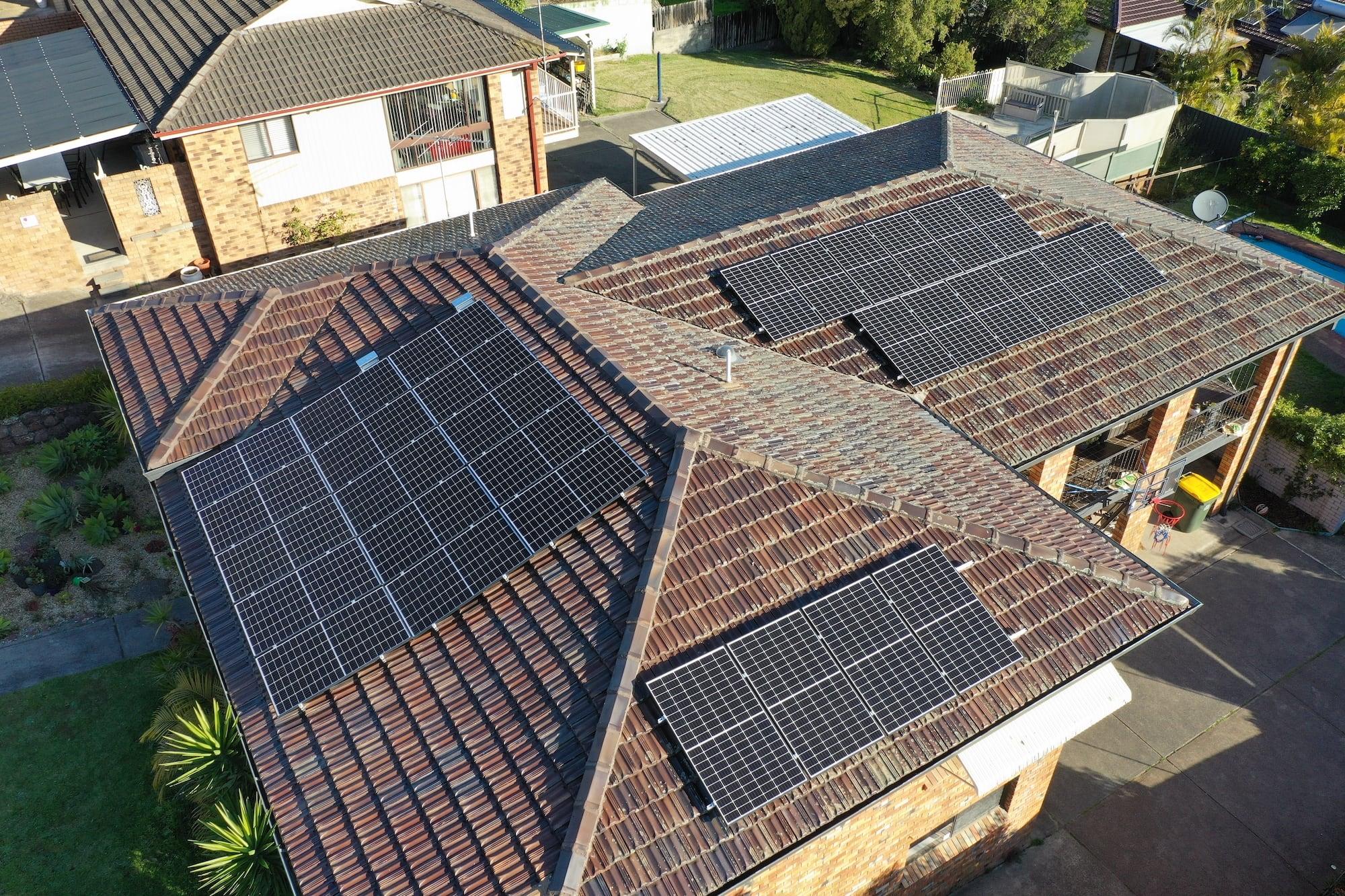 aztech solar panel installation_august 8