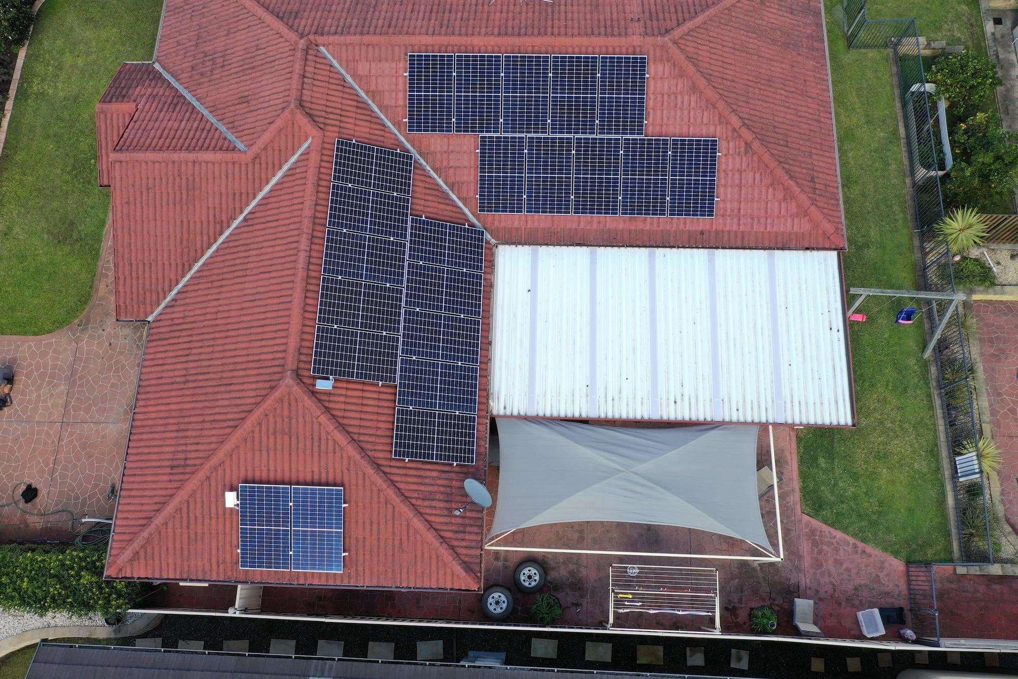aztech solar panel installation_august 9