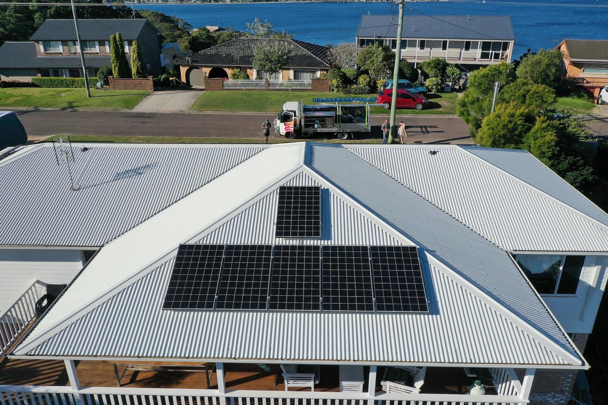 aztech solar panel installation_september 1