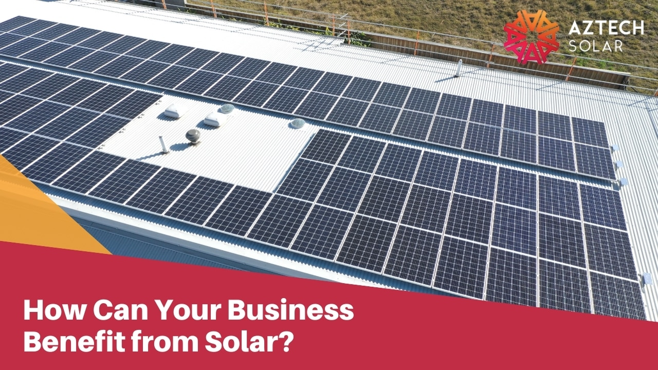 How Can Your Business Benefit from Solar?