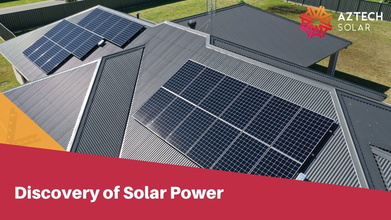Discovery of Solar Power