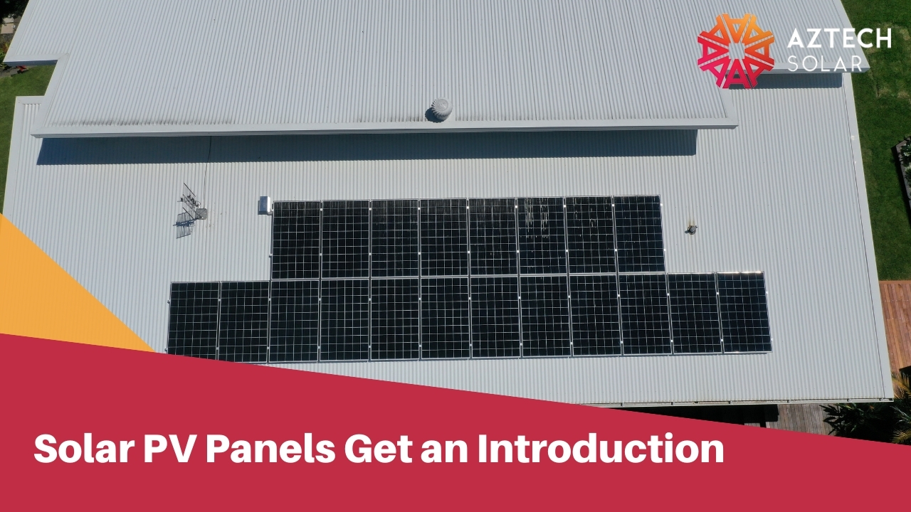 Solar PV Panels Get an Introduction
