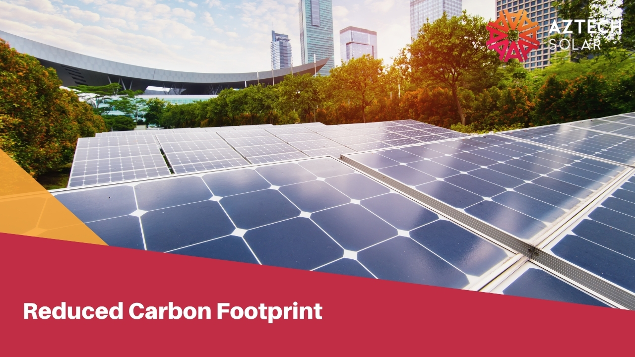 Reduced Carbon Footprint