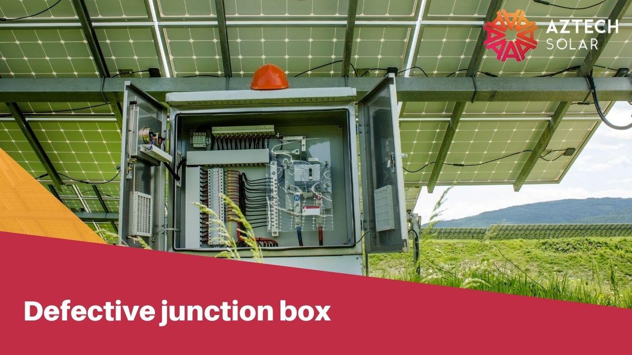 Defective junction box