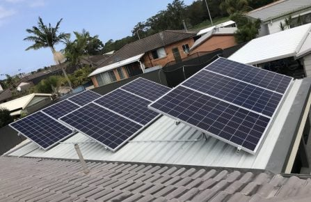 caves beach Solar installation projects, Solar products, Solar panels, Solar battery storage, Solar power inverter